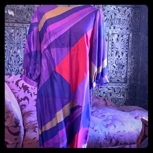 French Connection 100% Silk shift dress